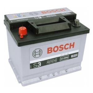 S3 006 Bosch Car Battery 12V 56Ah Type 078 S3006