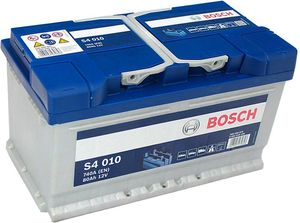 S4 010 Bosch Car Battery 12V 80Ah Type 110 S4010