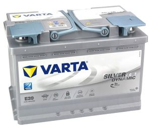 Varta Car Batteries AGM 096 / E39 / DIN 570901076
