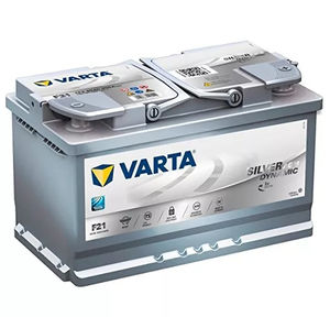 Varta F21 AGM Start Stop Car Battery 12v 80ah Type 110