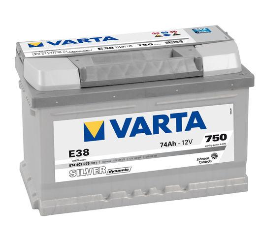 Varta Car Battery New Powerframe 067 / 096 / E38 / (574402075)