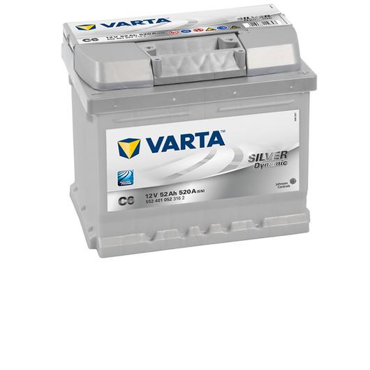 Varta Car Batteries New Powerframe 063 / C6 / (552401052)