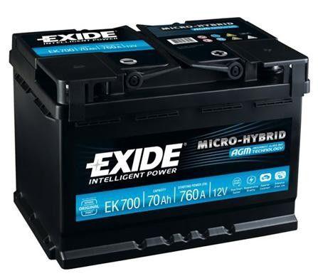 car battery exide ek700 low cost batteries online. Black Bedroom Furniture Sets. Home Design Ideas