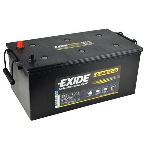 exide leisure battery equipment gel es2400 low cost. Black Bedroom Furniture Sets. Home Design Ideas