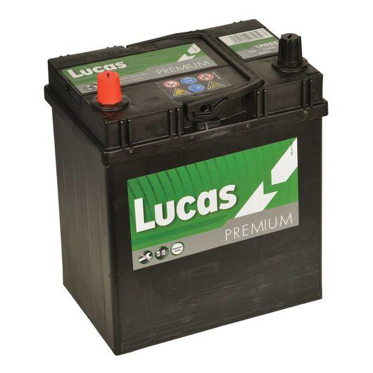 lucas premium 055 car battery 12v 35ah battery free. Black Bedroom Furniture Sets. Home Design Ideas