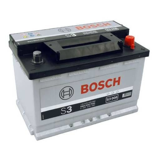 s3 008 bosch car battery 12v 70ah type 096 s3008. Black Bedroom Furniture Sets. Home Design Ideas