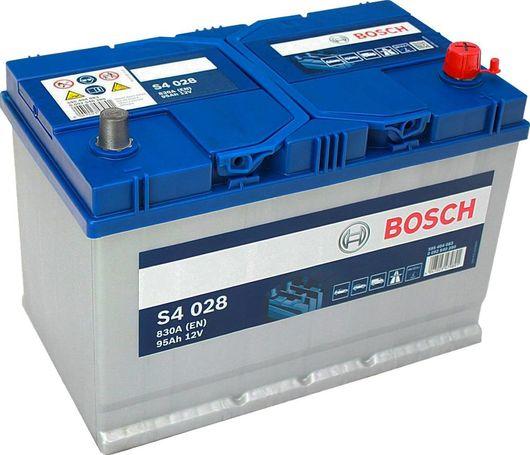 s4 028 bosch car battery 12v 95ah type 249 s4028. Black Bedroom Furniture Sets. Home Design Ideas