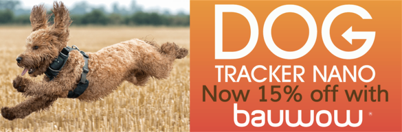 Dog Tracker Nano Orange