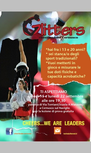 Prova gratis di cheerleading!