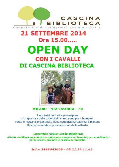 Open day con i cavalli