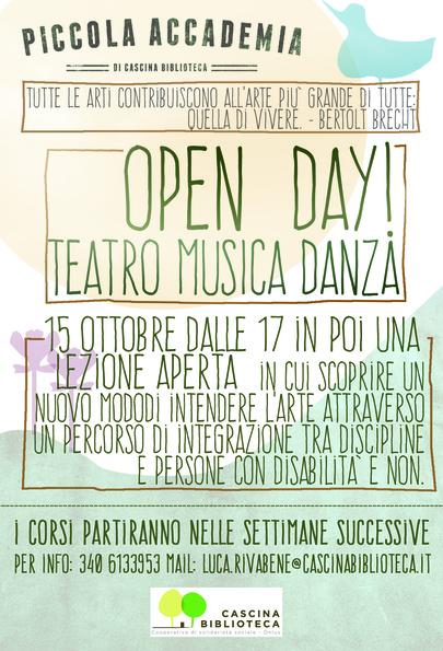 Teatro, musica, danza