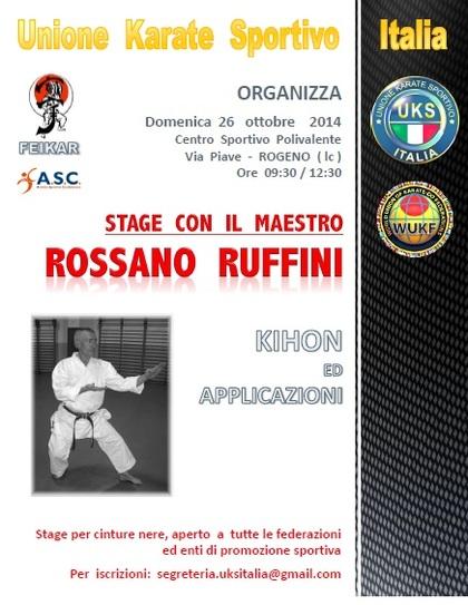 Stage M° Ruffini Rossano