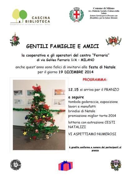Festa di Natale Cdd Ferraris