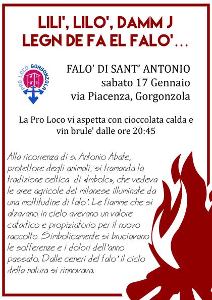 FALO' DI S. ANTONIO