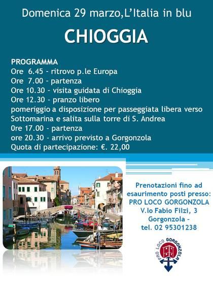 L'Italia in blu:CHIOGGIA