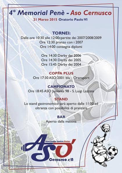 4° Torneo Memorial Penè
