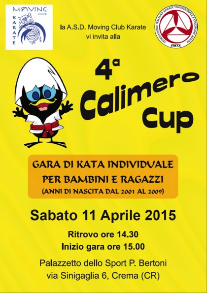4° CALIMERO CUP