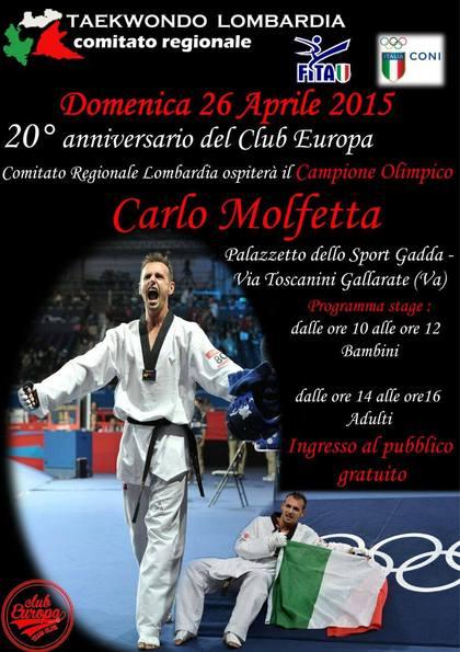 Stage con Carlo Molfetta
