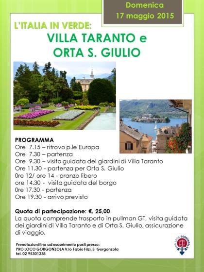 L'Italia in verde: VILLA TARANTO E ORTA