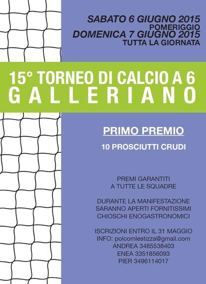 15° TORNEO DI CALCIO A…