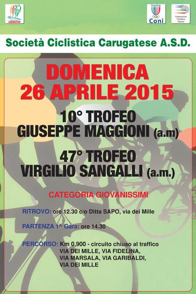 10°Trofeo G.Maggioni(am) 47°Trofeo V.Sangalli(am)