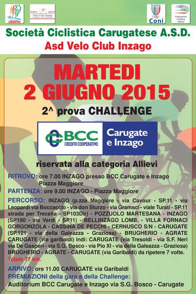 2^Prova Challenge BCC Carugate e Inzago