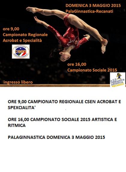CAMPIONATO SOCIALE 2015