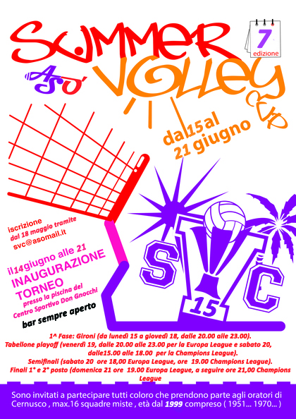 Summer Volley Cup 2015