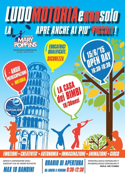 Open Day a La Casa di Mary Poppins