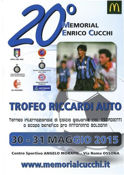 20° Memorial Enrico Cucchi