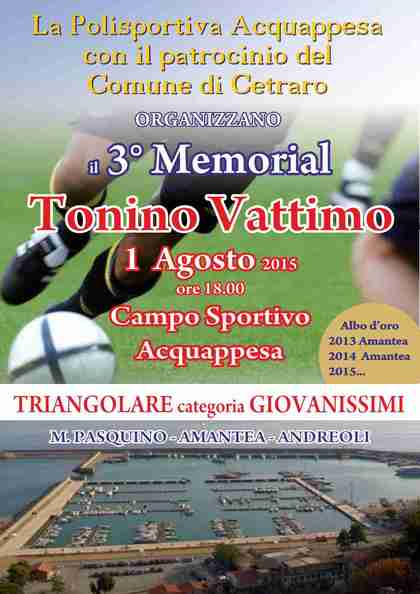 III Memorial  T. Vattimo