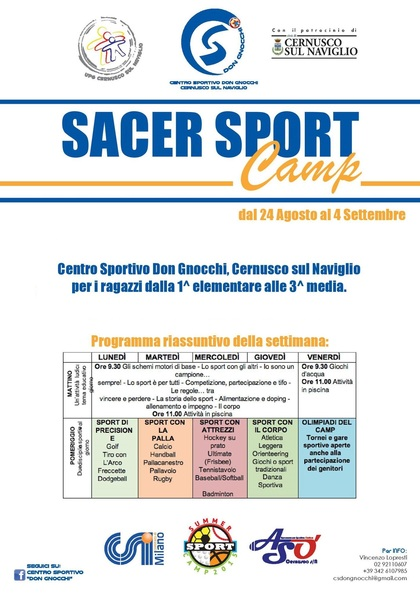 Sacer Sport Camp