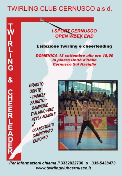 I SPORT CERNUSCO OPEN WEEK END