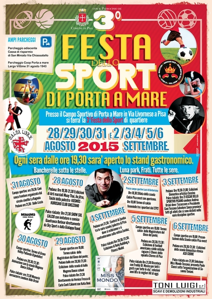 GREEN VOLLEY, alla festa dello sport