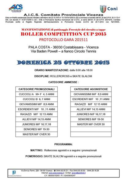 Roller Competition Cup