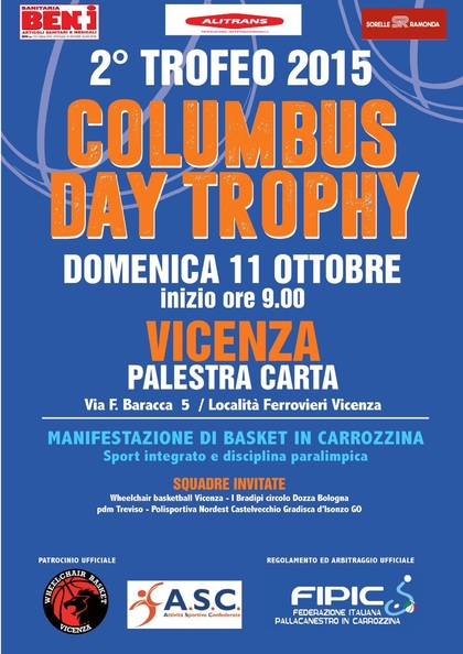 II° Columbus Day Trophy
