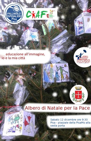 Inaugurazione Albero di Natale per la Pace