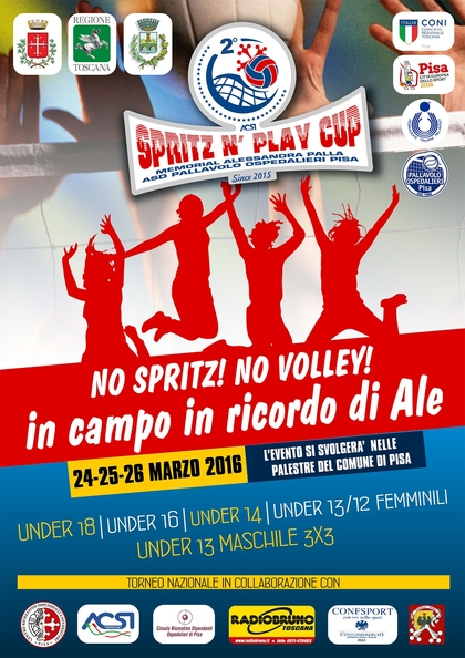 Spritz N' Play Cup, 2° memorial Alessandra Palla