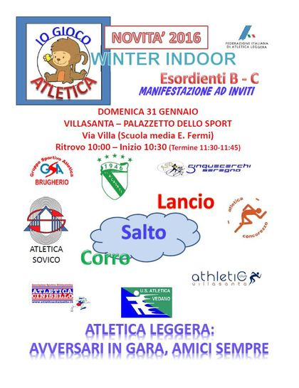 GIOCOATLETICA WINTER INDOOR
