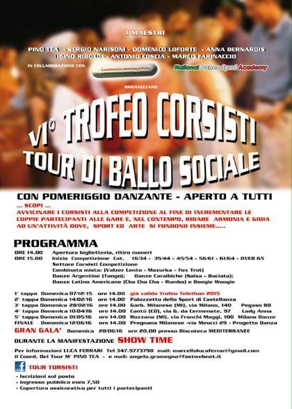6' TROFEO CORSISTI TOUR…