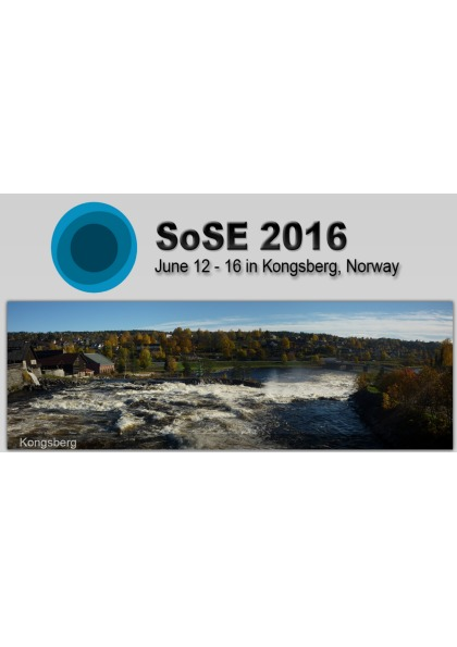 IEEE Systems of Systems Engineering conference (SoSE)