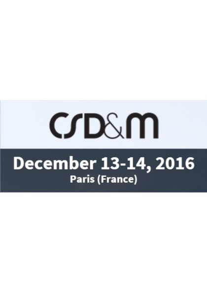 7th french Conference on Complex Systems Design & Management