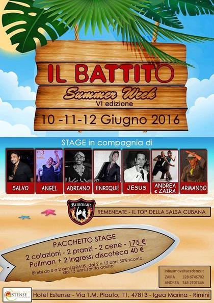 IL BATTITO SUMMER WEEK