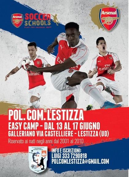 ARSENAL CAMP A GALLERIANO