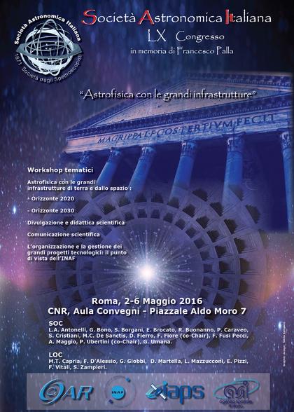 LX Congresso della Società Astronomica Italiana