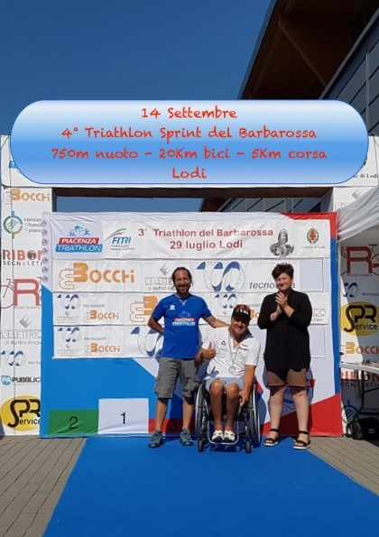 4° Triathlon Sprint del Barbarossa