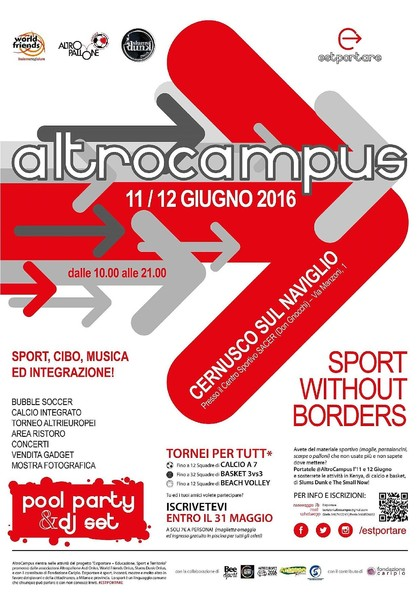 ALTROCAMPUS #SportWithoutBorders
