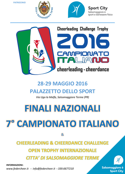 FINALE 7° Campionato Cheerleadig & Cheerdance