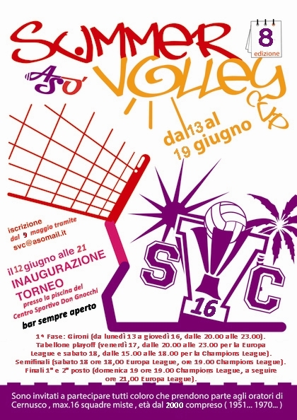 Summer Volley 2016