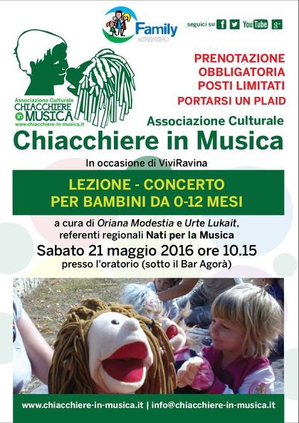 Concerto per bambini da 0-12 mesi